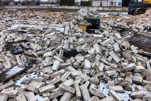 Rozbiórka budynku jednorodzinnego Jabłonna