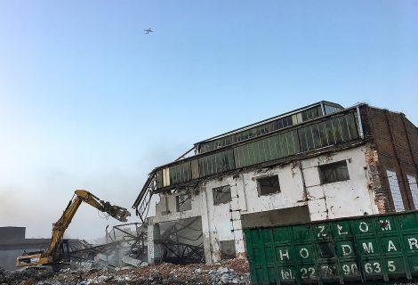 Rozbiórka hali – Ożarów Mazowiecki